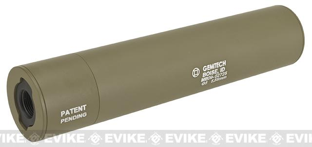 Madbull Gemtech QD Mock Suppressor Barrel Extension with Flashhider - Tan