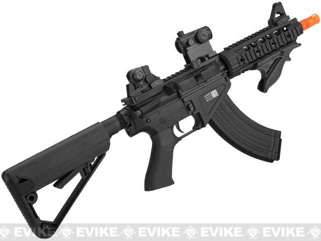 Bolt BR47 PMC High Cycle B.R.S.S Full Metal EBB Airsoft AEG Rifle - Black