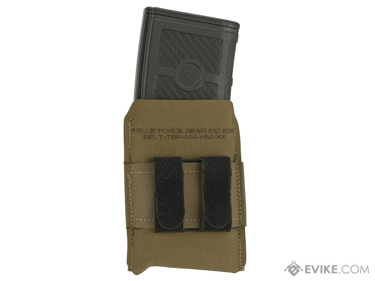 Blue Force Gear Belt-Mounted Ten-Speed�  Low Rise M4 Magazine Pouch - Coyote Brown