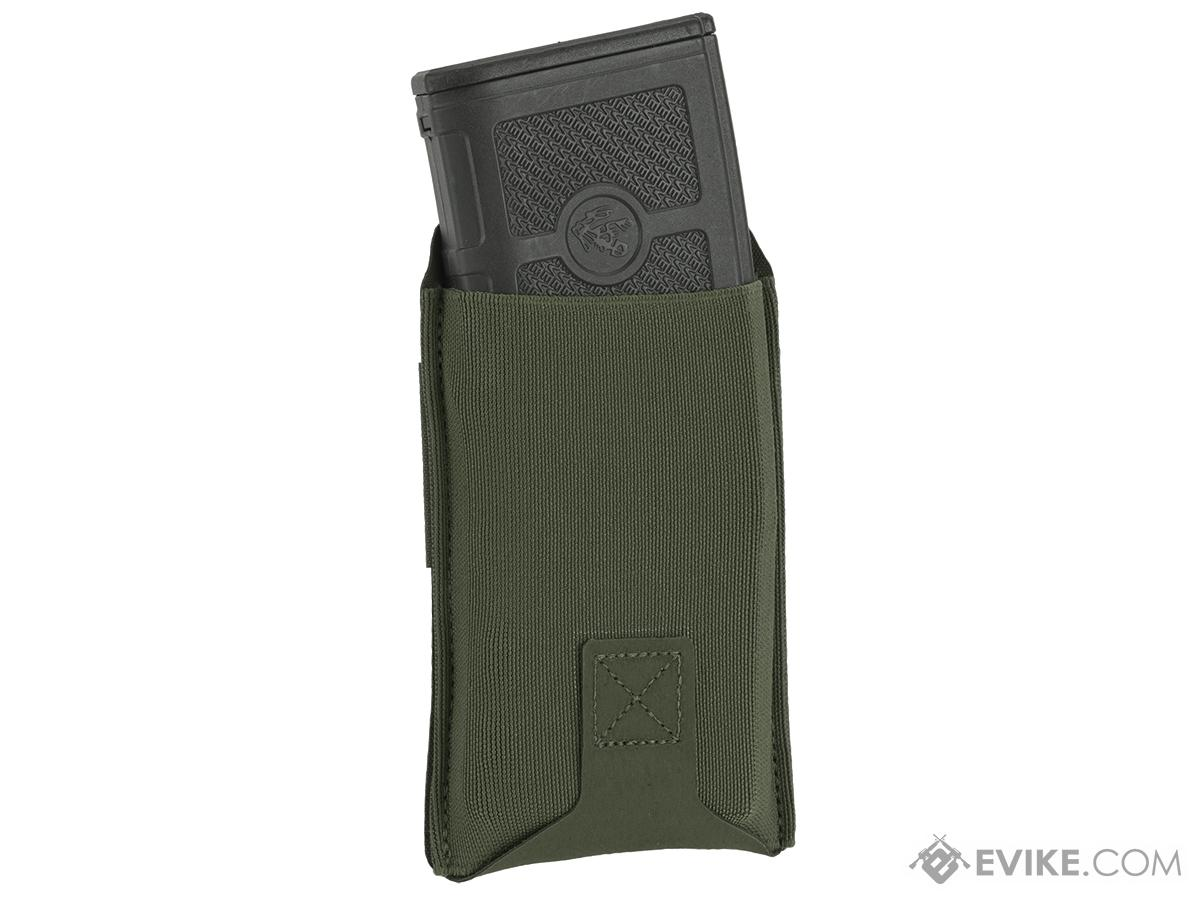 Blue Force Gear Belt-Mounted Ten-Speed®  Low Rise M4 Magazine Pouch - OD Green