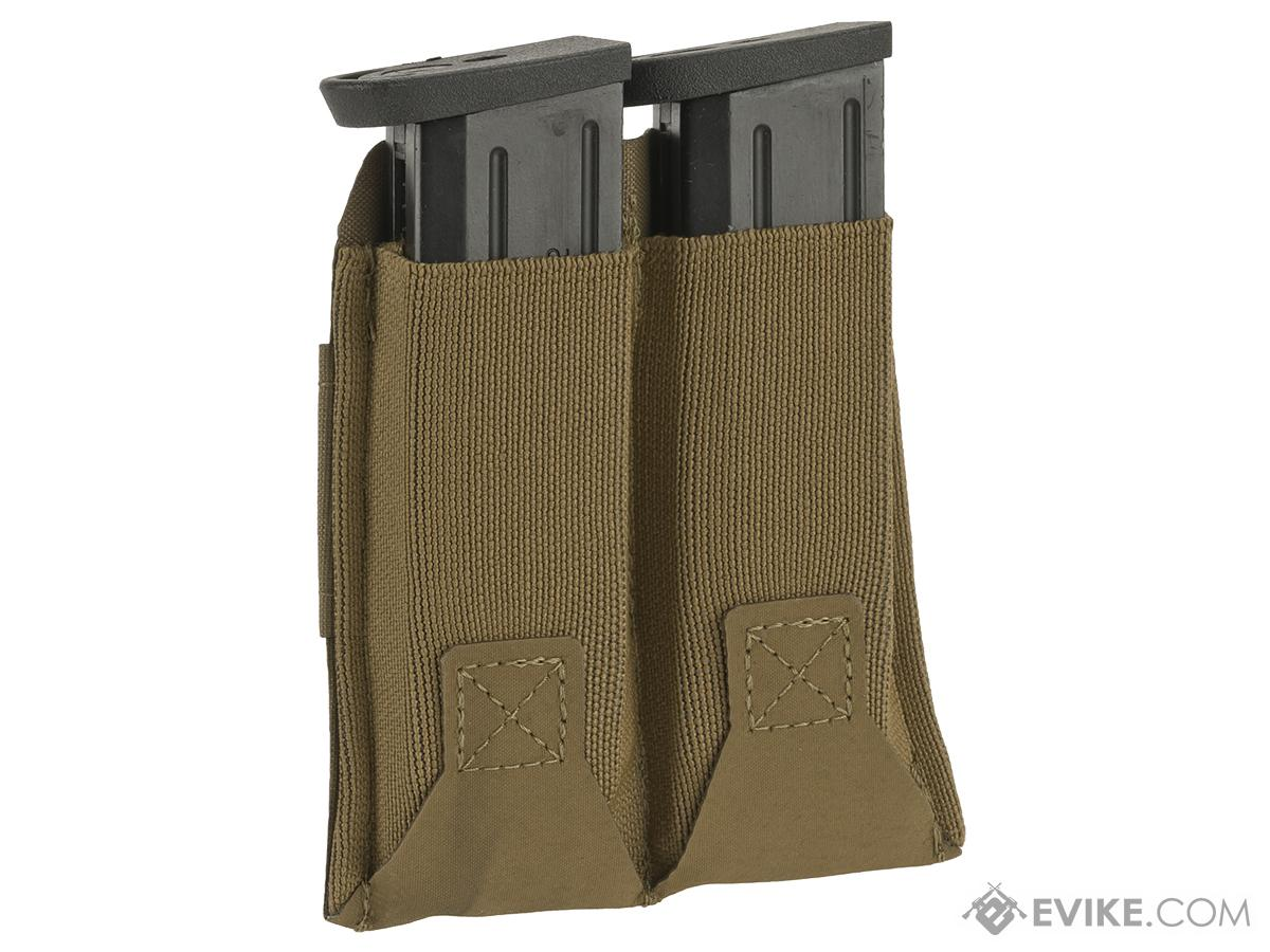 Blue Force Gear Belt-Mounted Ten-Speed®  Double Pistol Magazine Pouch - Coyote Brown