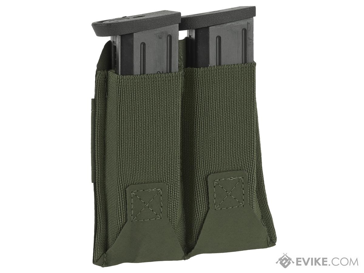 Blue Force Gear Belt-Mounted Ten-Speed�  Double Pistol Magazine Pouch - OD Green