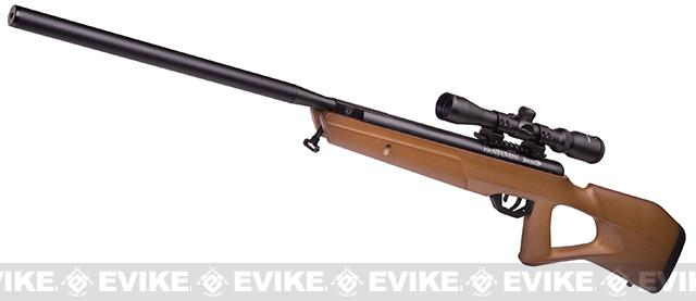 Benjamin Trail NP2 Nitro-Piston .22 Caliber Air Rifle with Wood Stock and 3-9x32 Scope (.22 AIRGUN NOT AIRSOFT)