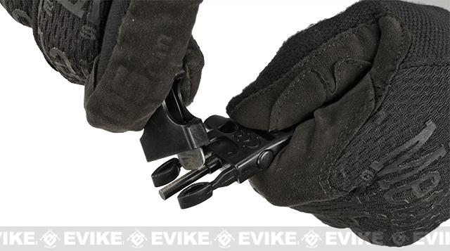 Evike.com Multi-Function Survival Paracord Watch with Fire Starter & Whistle - Black / 10