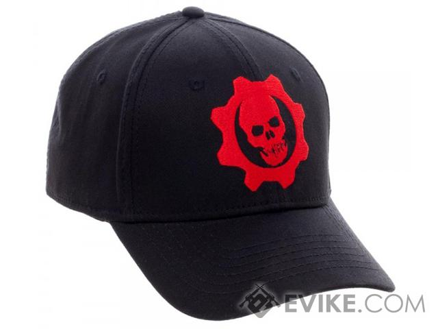 Gears of War Embroidered  Flex Cap - Black