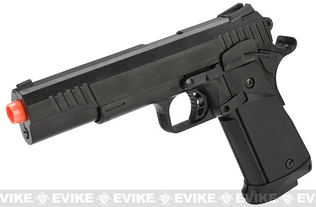 JLS 1:1 Scale 1911 Hi-CAPA Airsoft Electric Blowback EBB Pistol