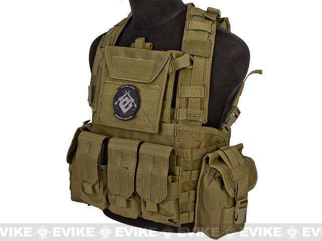 Lancer Tactical CA307 Modular Chest Rig - Tan