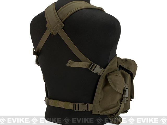Lancer Tactical AK Chest Rig - OD Green