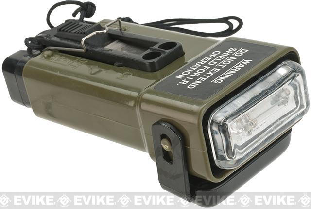 Lancer Tactical CA-708 Distress Strobe Marker Light - OD Green