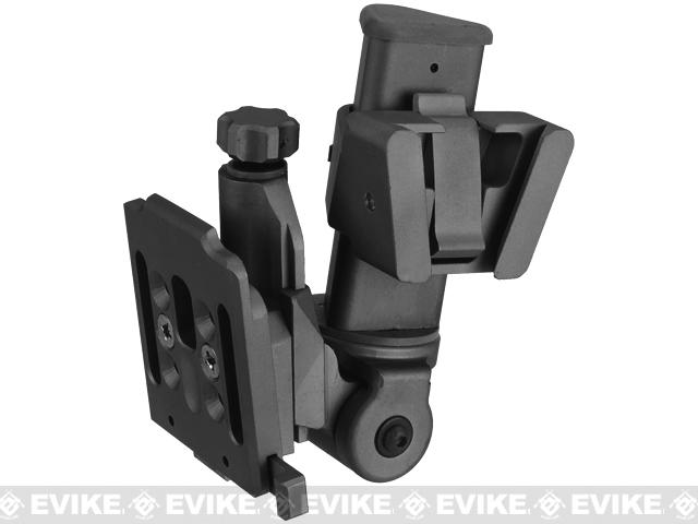 Avengers NVG mount for PVS 15/18 Type Mock NVGs - Black