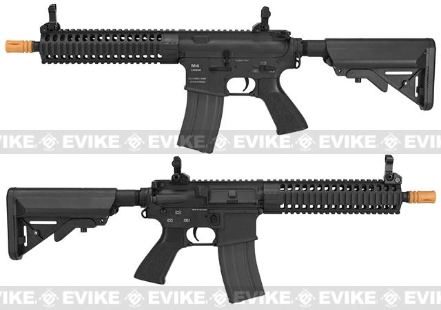 Classic Army Full Metal M4 M6A2 Airsoft AEG Rifle - Black