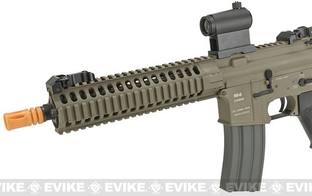 Classic Army Full Metal M4 M6A2 Airsoft AEG Rifle - Coyote Brown