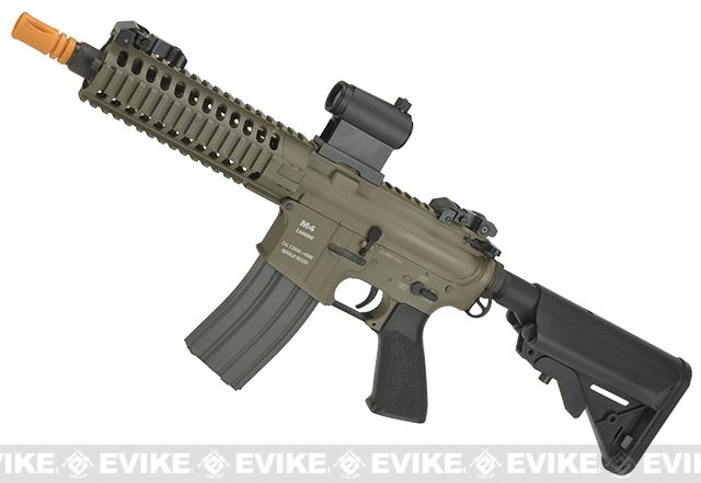Classic Army Full Metal M4 M6A2 PSD Airsoft AEG Rifle - Coyote Brown