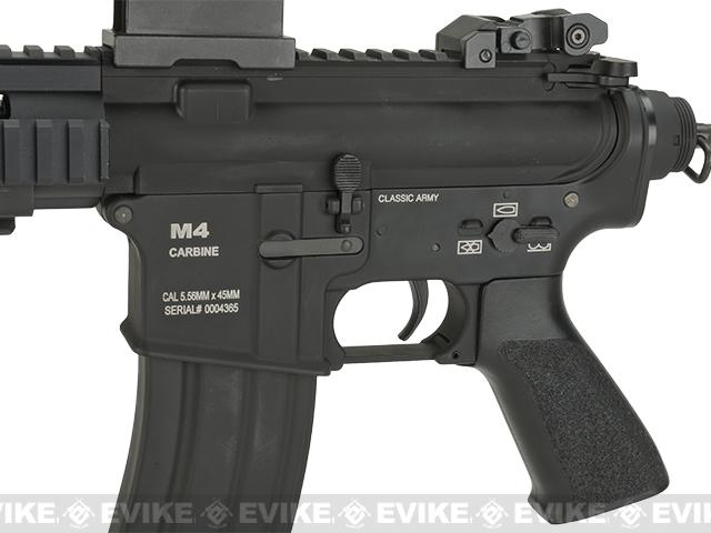 Classic Army CA100M Full Metal M4 Pistol Airsoft AEG - Black