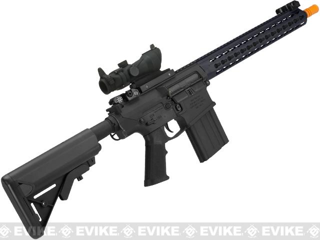 Classic Army CA110 ARS2 Airsoft AEG Rifle with 13 Keymod Handguard - Black