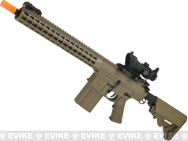Classic Army CA110 ARS2 Airsoft AEG Rifle with 13 Keymod Handguard - Dark Earth