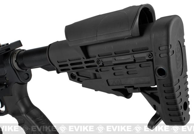 CAA Licensed Full Metal M4 Carbine Airsoft AEG Rifle by King Arms - Black