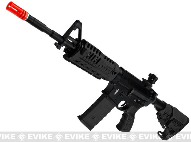 Pre-Order ETA June 2016 CAA Licensed Full Metal M4 Carbine Airsoft AEG Rifle by King Arms - Black