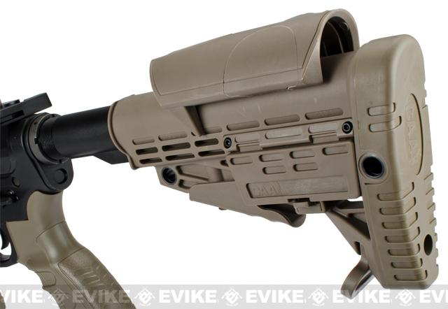 Pre-Order ETA June 2017 CAA Licensed Full Metal M4 Carbine Airsoft AEG Rifle by King Arms - Dark Earth