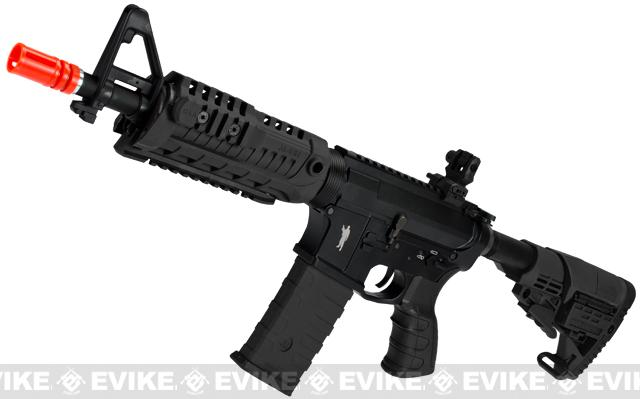 CAA Licensed M4-S1 Carbine CQB Full Metal Airsoft AEG Rifle - Black