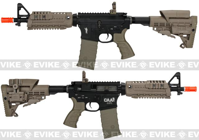 CAA Licensed M4-S1 Carbine CQB Full Metal Airsoft AEG Rifle - Dark Earth