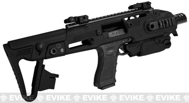 z Completed Build CAA Airsoft Roni Carbine Airsoft GBB SMG Pistol (Build: G-Series / Black)