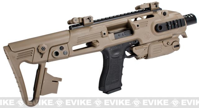 z Completed Build CAA Airsoft Roni Carbine Airsoft GBB SMG Pistol (Build: G-Series / Dark Earth)