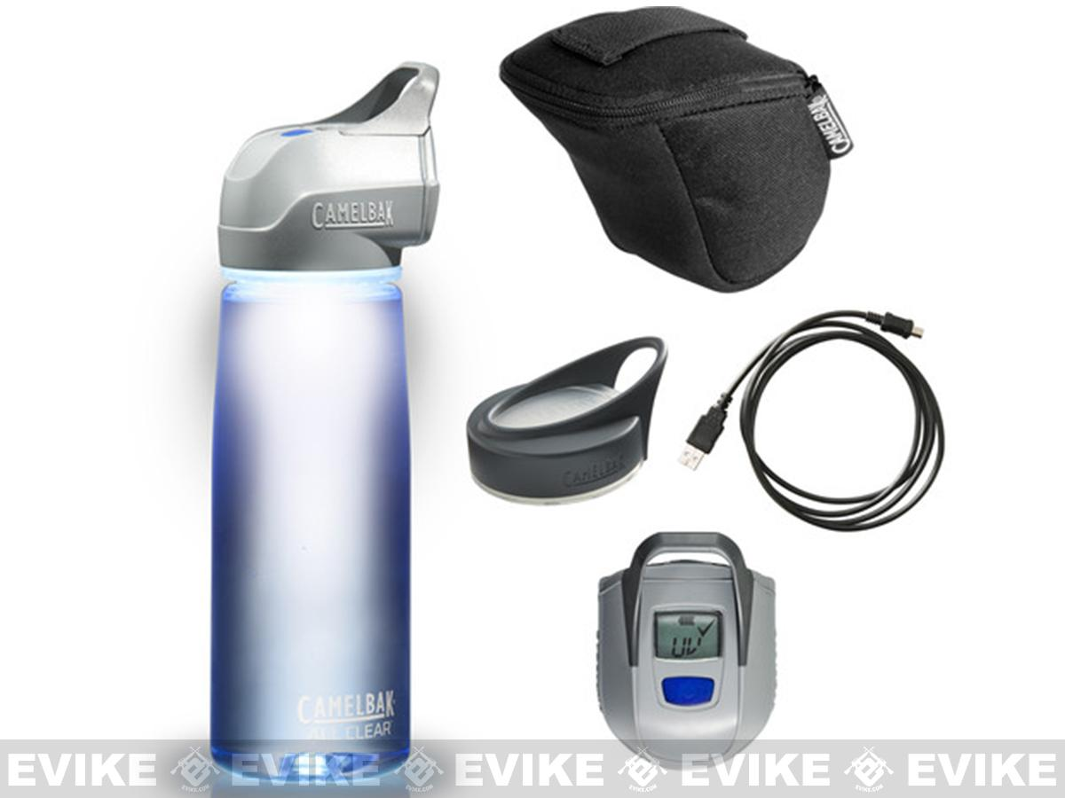 All Clear™ Bottle UV Purifying Water Bottle by CamelBak® - Pure Blue