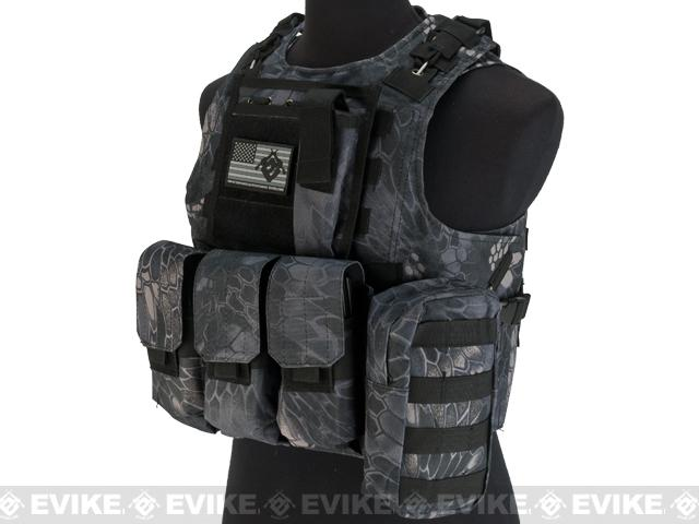 Avengers Military Style MOD-II Quick Release Body Armor Vest - Urban Serpent
