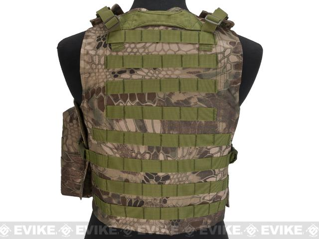 Avengers MOD-II Quick Release Body Armor Vest - Forest Serpent