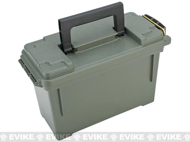 Evike.com Molded Polypropylene Stackable Ammo Can (Made in USA) BB Resupply Kit - (QTY: 2kg / 0.20g Biodegradeable)