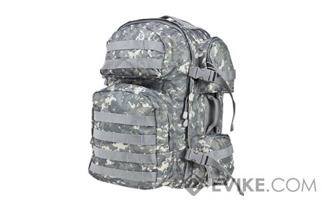 NcSTAR Tactical Assault Pack / MOLLE Backpack - (ACU)