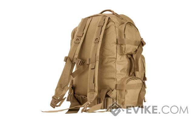 NcSTAR Tactical Assault Pack / MOLLE Backpack - (Tan)