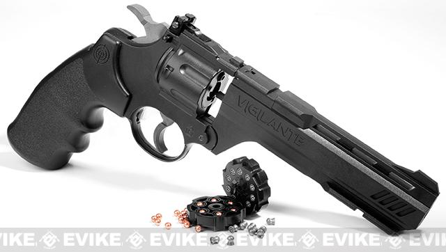 Crosman Vigilante CO2 Power Airgun Revolver  (.177 AIRGUN NOT AIRSOFT)