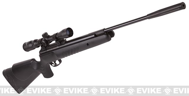 Crosman Nitro Venom Dusk Nitro Piston Powered .22 Hunting Airgun (.22 cal AIRGUN NOT AIRSOFT) - Black