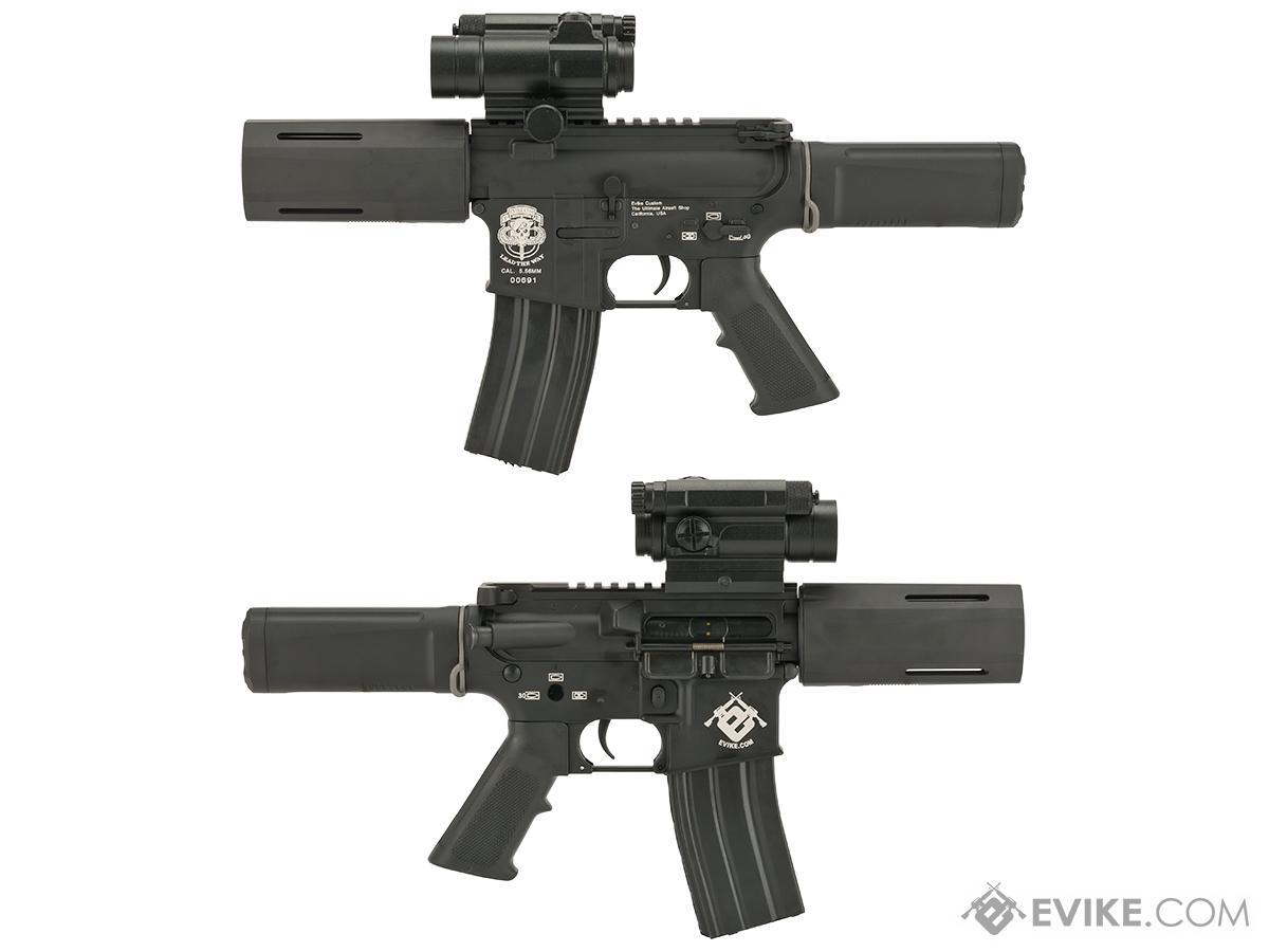 Evike Custom G&P Airsoft M4 PDW AEG with SDP Kit - Black