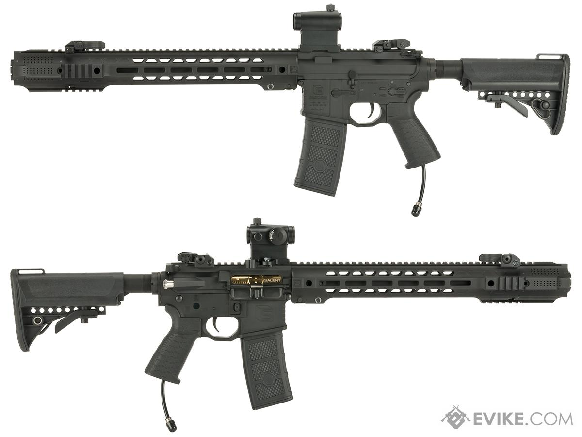 Pre-Order ETA December 2016 EMG SAI Licensed AR-15 GRY Polarstar F-1 Powered Airsoft Training Rifle with JailBrake Muzzle Device and Red Dot