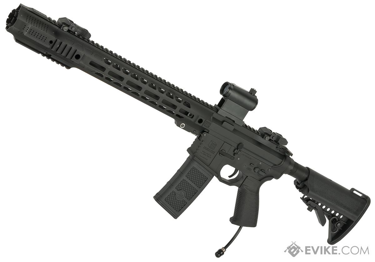 Pre-Order ETA July 2017 EMG / SAI Licensed AR-15 GRY HPA Training Rifle w/ JailBrake Muzzle (Configuration: PolarStar Fusion Engine V2)
