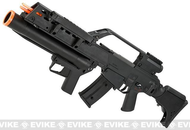 Evike Class I Custom H&K G36KV / AG36 Grenadier Airsoft AEG EBB Rifle by UMAREX w/ Integrated Scope