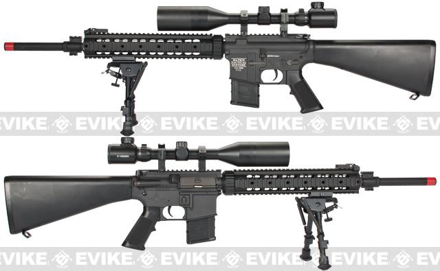 z Evike Custom Class I Matrix Pro-Line M4 DMR Airsoft AEG Rifle