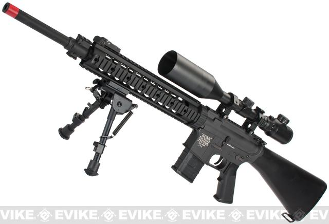 z Evike Custom Matrix Pro-Line M4 DMR Airsoft AEG Rifle