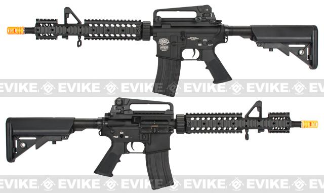Evike Custom Class I G&P M4 MRE Airsoft AEG Rifle w/ Crane Stock - Black