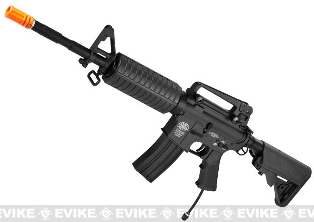 Evike Custom G&P PolarStar M4 Carbine Electro-Pneumatic Airsoft Rifle - Black
