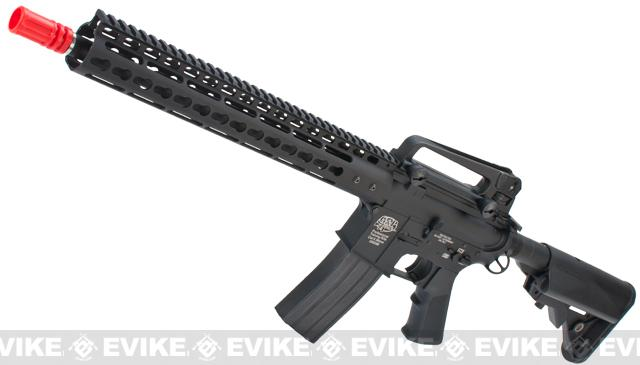 Pre-Order ETA March 2017 Evike Custom Class I G&P M4 Airsoft AEG Rifle - Noveske 13.5 Keymod (Package: Add Battery + Charger)