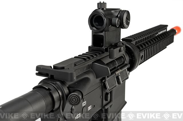 Pre-Order ETA March 2017 Evike Class I Custom G&P M4 Stealth Series Airsoft AEG Rifle - 10 (Package: Add Battery + Charger)