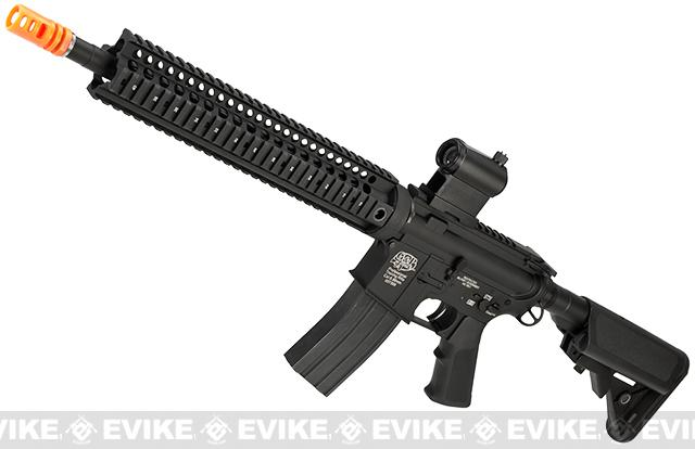 Pre-Order ETA July 2017 Evike Class I Custom G&P M4 Stealth Series Airsoft AEG Rifle - 12 (Package: Add Battery + Charger)