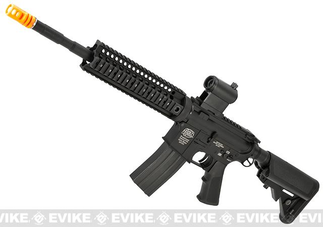 Pre-Order ETA July 2017 Evike Class I Custom G&P M4 Stealth Series Airsoft AEG Rifle - 9 (Package: Add Battery + Charger)