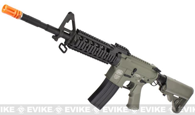 Evike Custom Class I G&P M4 Airsoft AEG Rifle - RAS-II / Foliage Green (Package: Gun Only)