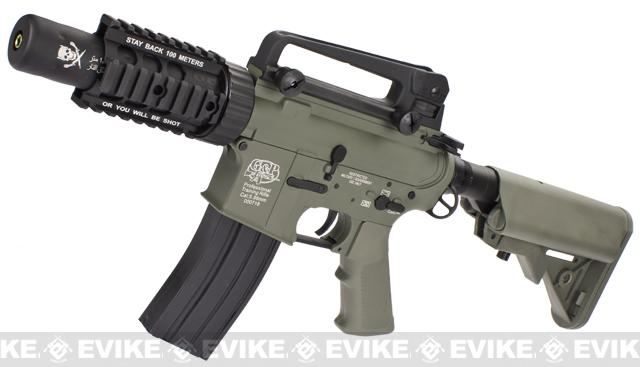Evike Custom Class I G&P M4 Airsoft AEG Rifle - Stubby Killer / Foliage Green (Package: Gun Only)