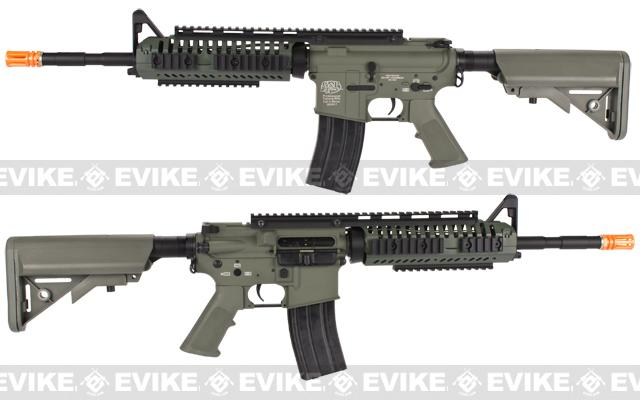 Evike Navy Seal E.O.D. Custom G&P M4 Full Metal Airsoft AEG Rifle - Foliage Green (Package: Gun Only)